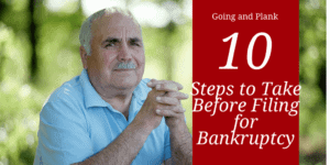 Ten Essential Steps to Take Before Filing for Lancaster County Bankruptcy