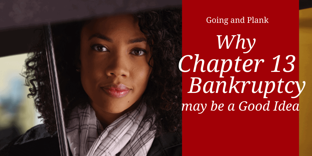 Experienced Lancaster County Bankruptcy Lawyer Explains When Chapter 13 Bankruptcy may be a Good Idea.