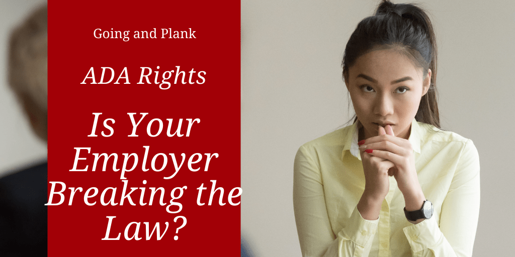 The American Disabilities Act Protects Lancaster County Residents From Discrimination. Is Your Employer Breaking the Law?
