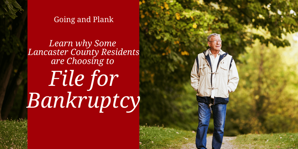 Learn why Some Lancaster County Residents are Choosing to File for Bankruptcy.